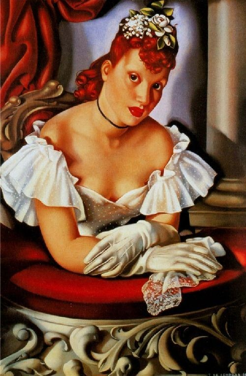 At the Opera, 1941 Tamara de Lempicka